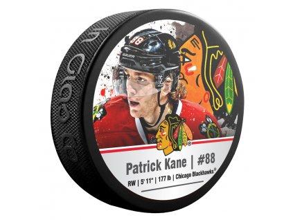 Puk Chicago Blackhawks Patrick Kane #88 NHLPA