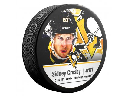 Puk Pittsburgh Penguins Sidney Crosby #87 NHLPA