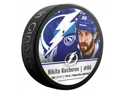Puk Tampa Bay Lightning Nikita Kucherov #86 NHLPA