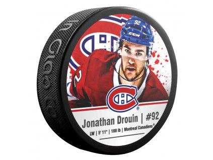 Puk Montréal Canadiens Jonathan Drouin #92 NHLPA