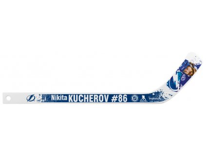 Plastová Minihokejka Tampa Bay Lightning Nikita Kucherov #86 NHLPA Player
