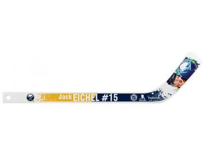 Plastová Minihokejka Buffalo Sabres Jack Eichel #15 NHLPA Player