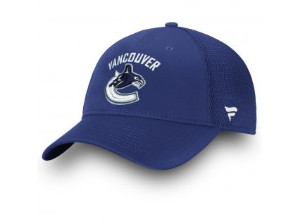 Šiltovka Vancouver Canucks Elevated Core Trucker