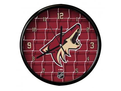 Nástenné Hodiny Arizona Coyotes Team Net Clock