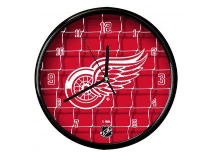 Nástenné Hodiny Detroit Red Wings Team Net Clock