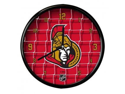 Nástenné Hodiny Ottawa Senators Team Net Clock