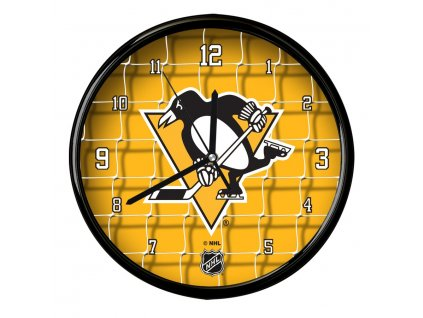 Nástenné Hodiny Pittsburgh Penguins Team Net Clock