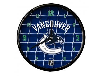 Nástenné Hodiny Vancouver Canucks Team Net Clock