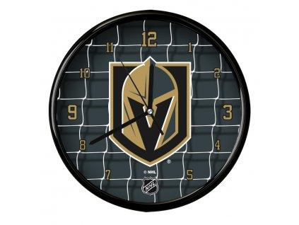 Nástenné Hodiny Vegas Golden Knights Team Net Clock