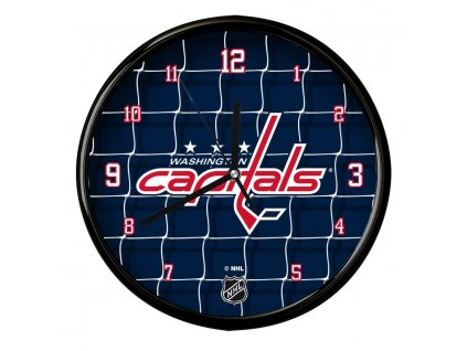 Nástenné Hodiny Washington Capitals Team Net Clock