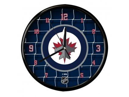Nástenné Hodiny Winnipeg Jets Team Net Clock