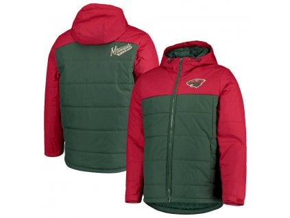 Zimná Bunda Minnesota Wild G-III Sports by Carl Banks Exploration Polyfill Hooded Parka