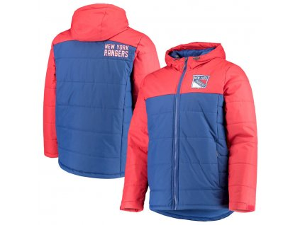Zimná Bunda New York Rangers G-III Sports by Carl Banks Exploration Polyfill Hooded Parka