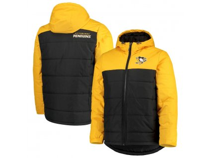 Zimná Bunda Pittsburgh Penguins G-III Sports by Carl Banks Exploration Polyfill Hooded Parka