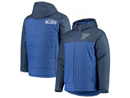 Zimná Bunda St. Louis Blues G-III Sports by Carl Banks Exploration Polyfill Hooded Parka