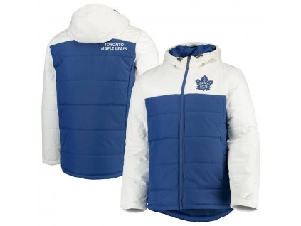 Zimná Bunda Toronto Maple Leafs G-III Sports by Carl Banks Exploration Polyfill Hooded Parka