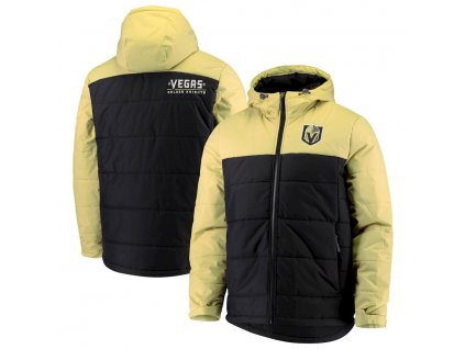 Zimná Bunda Vegas Golden Knights G-III Sports by Carl Banks Exploration Polyfill Hooded Parka