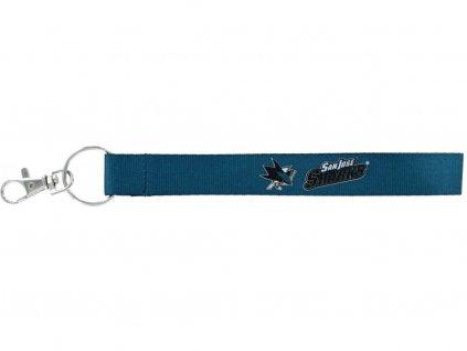 Kľúčenka San Jose Sharks Wristlet Lanyard