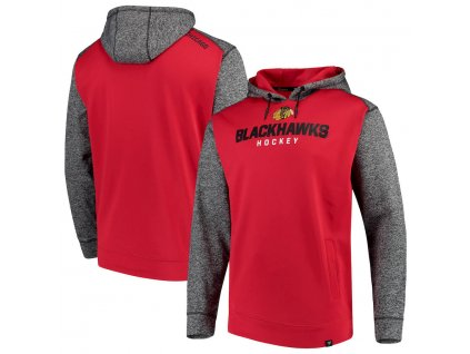 Mikina Chicago Blackhawks Static Fleece Pullover Hoodie