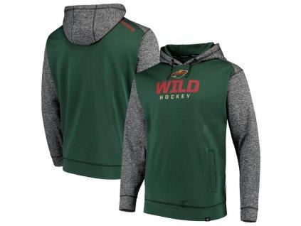 Mikina Minnesota Wild Static Fleece Pullover Hoodie