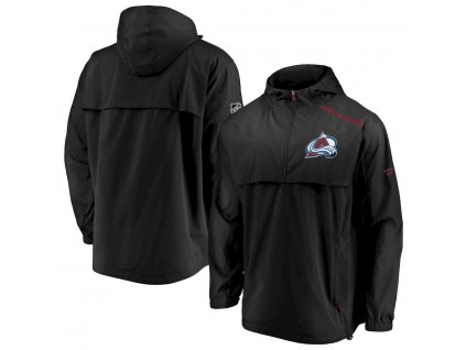 Bunda Colorado Avalanche Authentic Pro Rinkside Anorak 1/4-Zip