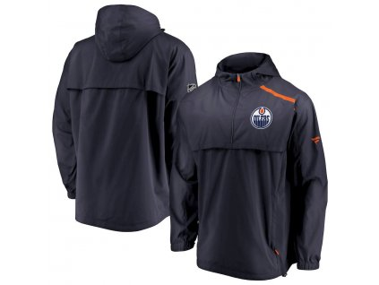 Bunda Edmonton Oilers Authentic Pro Rinkside Anorak 1/4-Zip