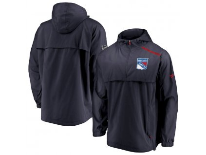 Bunda New York Rangers Authentic Pro Rinkside Anorak 1/4-Zip