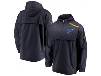 Bunda St. Louis Blues Authentic Pro Rinkside Anorak 1/4-Zip