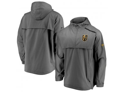 Bunda Vegas Golden Knights Authentic Pro Rinkside Anorak 1/4-Zip