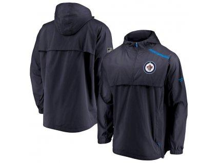 Bunda Winnipeg Jets Authentic Pro Rinkside Anorak 1/4-Zip