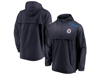 Bunda Winnipeg Jets Authentic Pro Rinkside Anorak 1/4-Zip