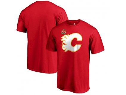 Tričko Calgary Flames 2019 Heritage Classic Primary Logo Red