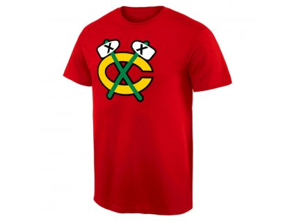 Tričko Chicago Blackhawks Team Alternate Logo