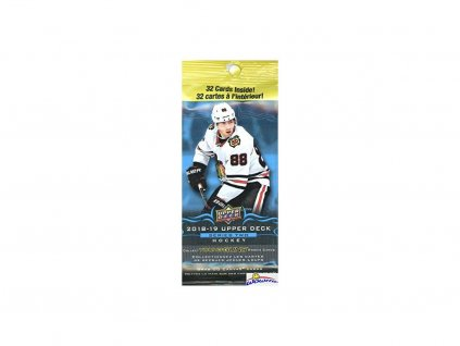 Hokejové Karty NHL Upper Deck 2018-19 Hockey Series 2 Jumbo Pack
