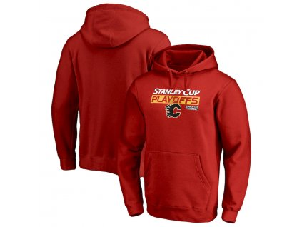 Mikina Calgary Flames 2019 Stanley Cup Playoffs Bound Body Checking Pullover Hoodie