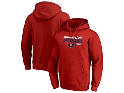 Mikina Washington Capitals 2019 Stanley Cup Playoffs Bound Body Checking Pullover Hoodie