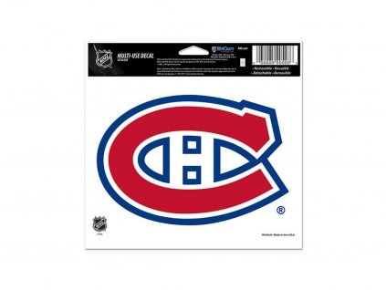 Samolepka Montreal Canadiens WinCraft Multi Use Primary Logo Decal