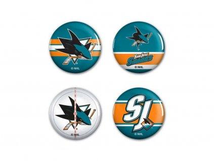 Odznak San Jose Sharks WinCraft