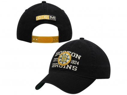 Šiltovka Boston Bruins CCM Slouch