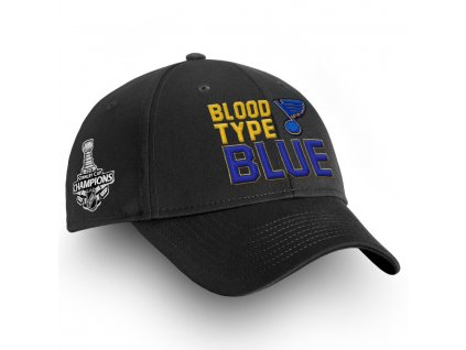 Šiltovka St. Louis Blues 2019 Stanley Cup Champions Hometown Structured Adjustable