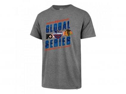 Pánské tričko 47 Brand Flanker Tee NHL Global Series Dueling GS19