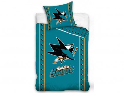 Obliečky San Jose Sharks TIP Stripes