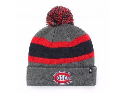 47 nhl montreal canadiens charcoal breakaway cuff knit p5814 16233 image