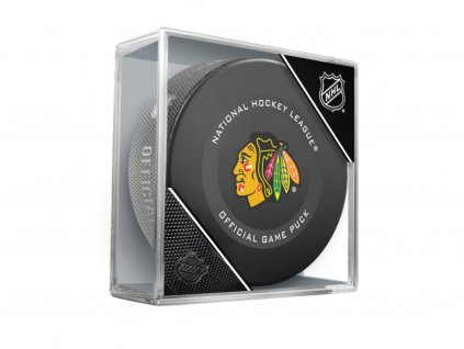 Puk Chicago Blackhawks Official Game Puck 2019-2020