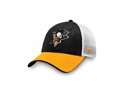 Šiltovka Pittsburgh Penguins Iconic Trucker Shadow