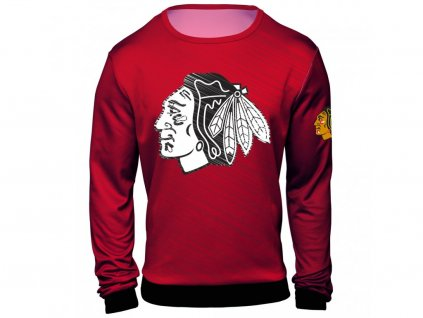 Mikina Chicago Blackhawks NHL Static Rain