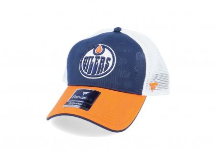 Šiltovka Edmonton Oilers Iconic Trucker Shadow