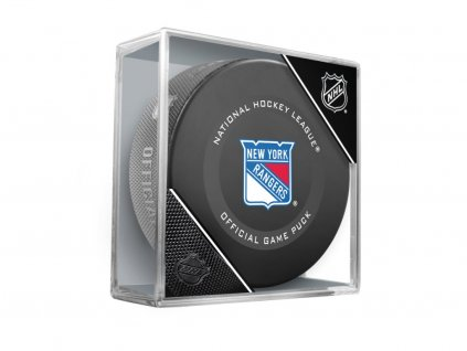 Puk New York Rangers Official Game Puck 2019-2020