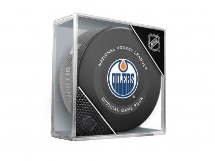Puk Edmonton Oilers Official Game Puck 2019-2020