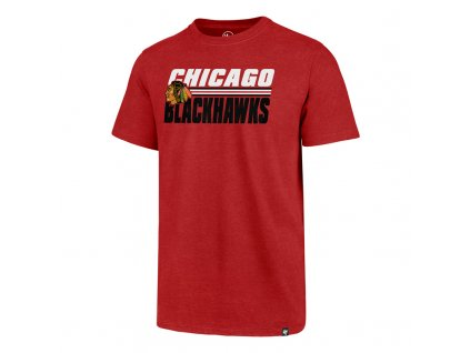 379239 panske tricko 47 brand shadow club tee nhl chicago blackhawks cervene 73773